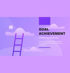 Goal achievement vector