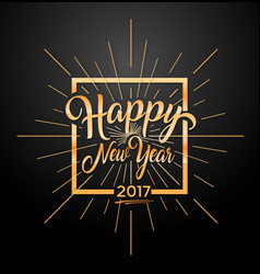 happy 2017 new year vector image