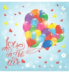 love in the air 2 380 vector image
