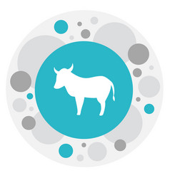 Of zoo symbol on kine icon vector
