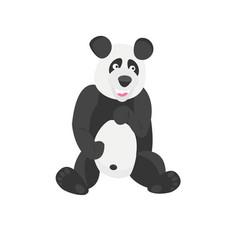 panda chinese bear good animal vector image