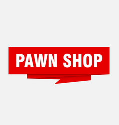 Pawn shop vector