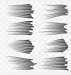 speed line vector image