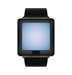 Watch gadget technology display icon vector