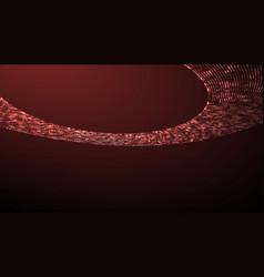 image ufo light beam aliens futuristic vector image
