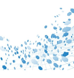 abstract digital wind vector image