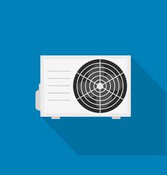 Ac icon air conditioner split temperature vector