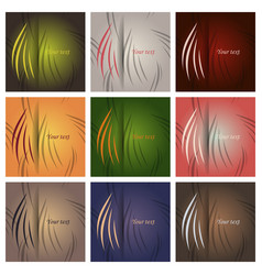 Collection of swatches memphis patterns fashion vector
