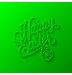 easter lettering background vector image