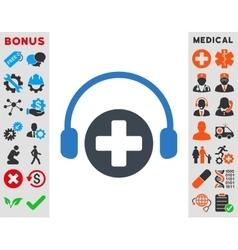 Hospital Call Service Icon vector