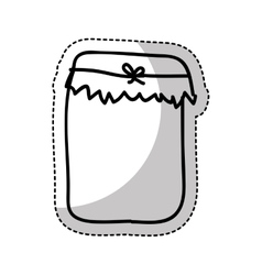 jam sweet drawing isolated icon vector image