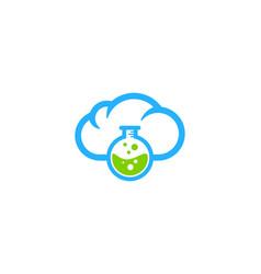 lab weather and season logo icon design vector image