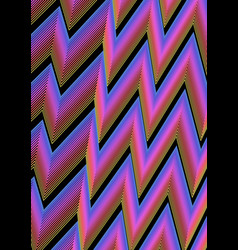 modern abstract background with zig-zag lines in vector image