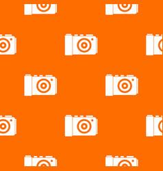 photo camera pattern seamless vector image