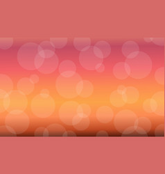 red background abstract flat vector image