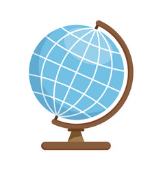 School geographic globe vector