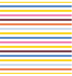Seamless geometric colorful striped pattern vector