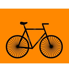 sports bike vector image