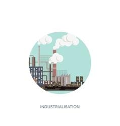 Urbanisation vector image