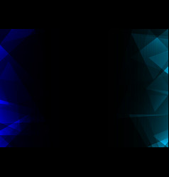 facet side abstract dark background vector image