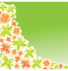 flower for card design vector image vector image