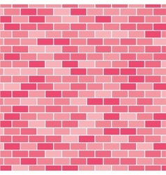 Background wall of bricks eps 10 vector