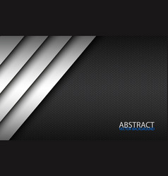 black and white modern material design vector image