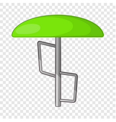 children bar fungus icon cartoon style vector image
