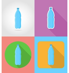 Fast food flat icons 06 vector