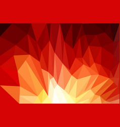 Red background design web abstract low poly vector