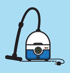 vacuum cleaner vector image