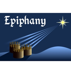 epiphany vector image