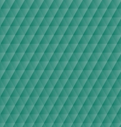 Abstract green geometric hexagons pattern vector image