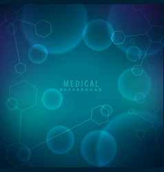 Background for science and medical vector