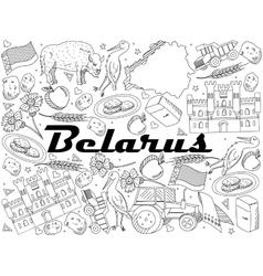 Belarus Coloring vector