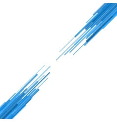 Blue straight lines abstract background vector