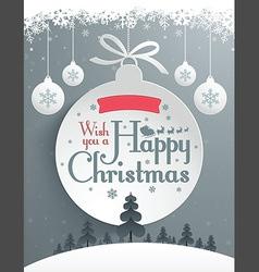 Christmas Message Design vector