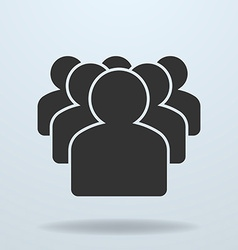 Icon of Team or People group vector image vector image