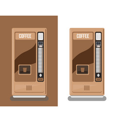 office coffee automatic machine vector image vector image