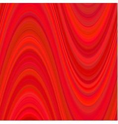 Red abstract wave background from curved stripes vector