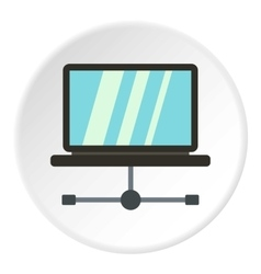 Tablet repair icon flat style vector