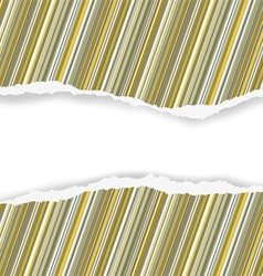 Wrapping torn paper vector image