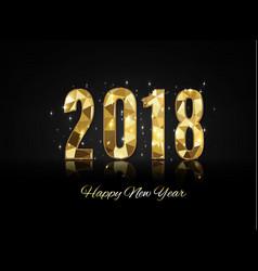 2018 happy new yearmerry christmas congratulate vector