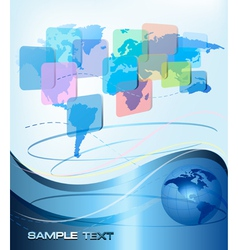 business abstract background vector image vector image