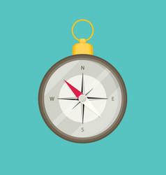 Compass icon web vector