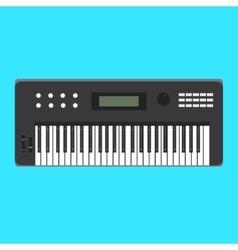 Analog synthesizer icon of vector image
