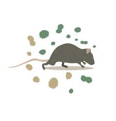 Animal rat clip art vector