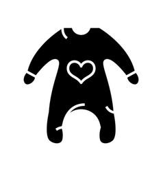 baclothes black icon concept vector image