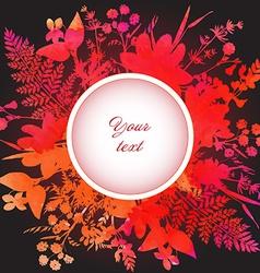 Botanic7 1 vector image