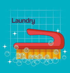 Brush laundry domestic dryers element template vector